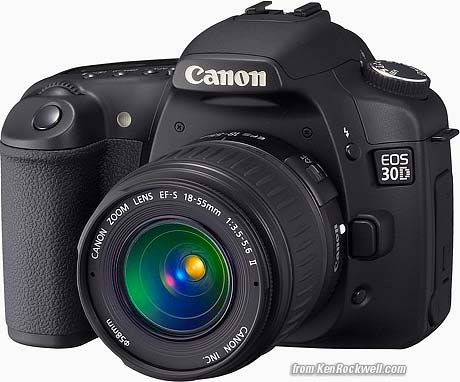 """Canon EOS 30D  Best camera ever!  However, my new """"best camera ever"""" will arrive on January 3 and I can't wait to use it!"""