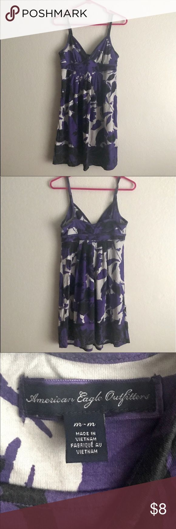 """American Eagle Outfitters Sun Dress Gently used. Great condition. About 35"""" in length. Perfect for showing of a little """"cleave""""... and a little leg. ***NEW TO POSHMARK: sign up using code TALLGIRLSCLOSET to get $5 off your first order. 🙂 American Eagle Outfitters Dresses"""