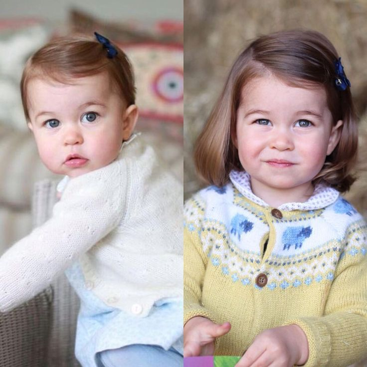 2016 • 2017 The Duchess of Cambridge photographed Princess Charlotte at their home at Anmer Hall in Norfolk in celebration of her second birthday tomorrow.