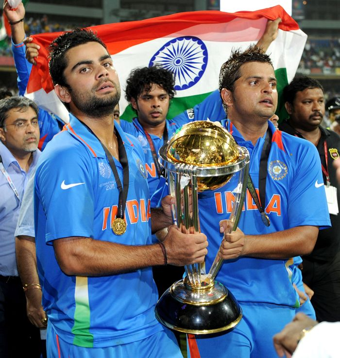 They were the future then and are not firmly, the present. Virat Kohli and Suresh Raina hold the cup in their hands and what a moment for them it was - a proud victory in their very first World Cup tournament.<br><br>They were brave, agile, aggressive and aware - aware that the onus of the future World Cups lies on them.