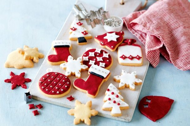 Christmas shortbread - Make delicious edible Christmas gifts with this light and buttery shortbread recipe.
