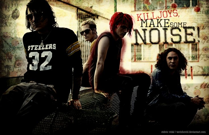 My Chemical Romance wallpaper by tavinhovid on DeviantArt