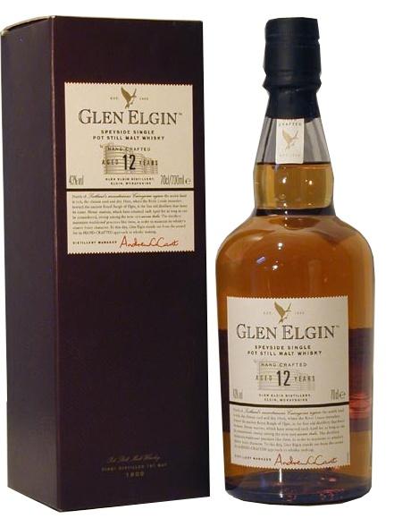 Glen Elgin 12yo. Speyside malt, highly sought-after for blends. € 52.8