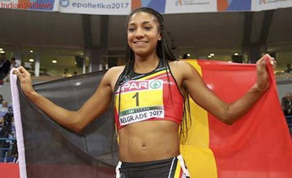 Olympic champion Nafissatou Thiam adds European indoor pentathlon gold