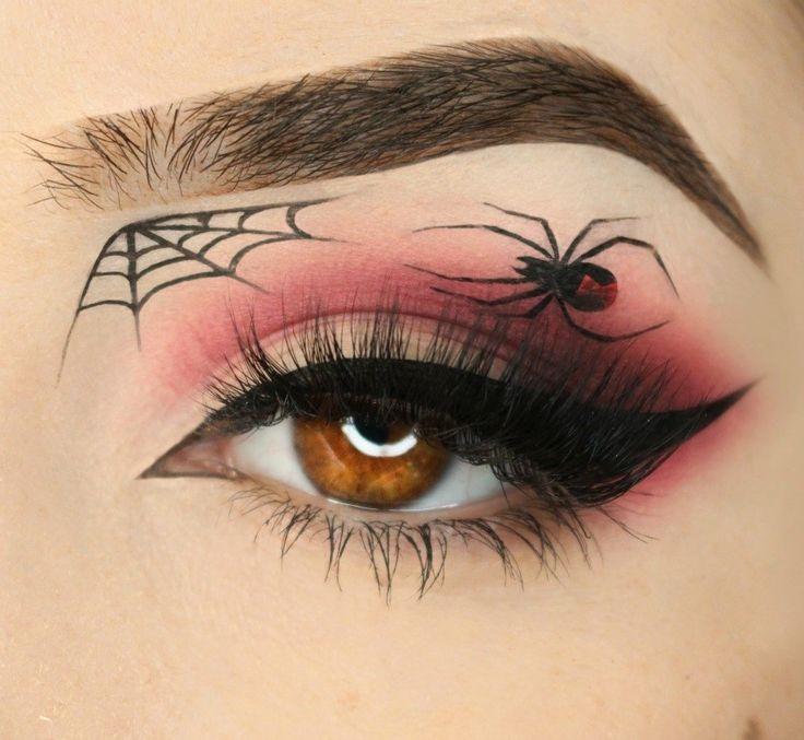 Best 25+ Spider web makeup ideas on Pinterest | Halloween spider ...