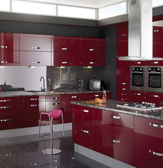 Kitchen italian modular kitchen modern modern modular open for Italian modular kitchen