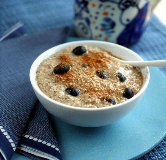Almost Instant Grain-Free Breakfast Porridge — Recipe created by Ricki Heller of RickiHeller.com