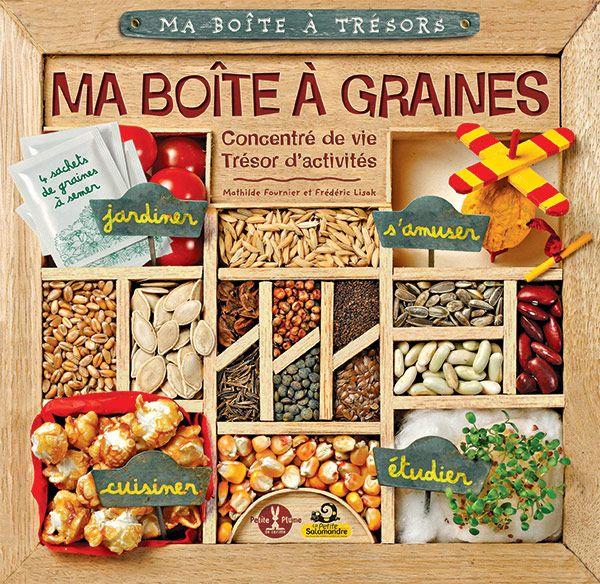 Boîte à trésors: Ma boîte à graines