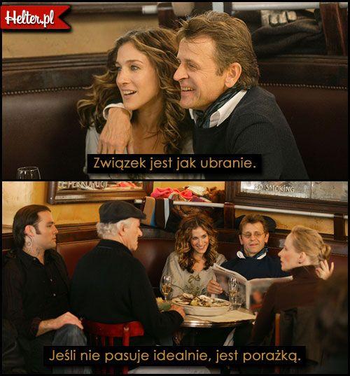 Cytaty Filmowe z Filmu Seks w Wielkim Mieście #polskie #cytaty #sekswwielkimmiescie #sexandthecity #satc #carriebradshaw #moda #filmowe #popolsku #helter #filmy #kino