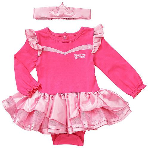 "Disney Baby Girls' Sleeping Beauty 2 Piece Tutu Bodysuit with Headband - Babies R Us - Babies ""R"" Us"