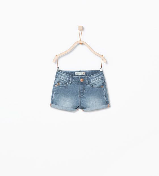 Denim basic short