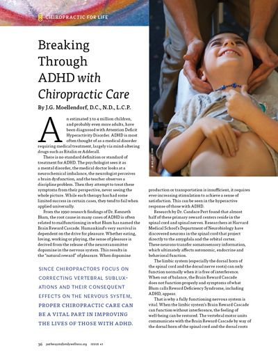 BREAKING THROUGH ADHD WITH CHIROPRACTIC CARE