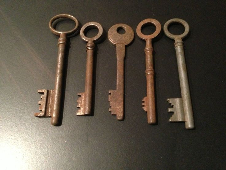 ANCIENNES CLEF vintage n°1  Keys and locks  Pinterest  Vintage ...