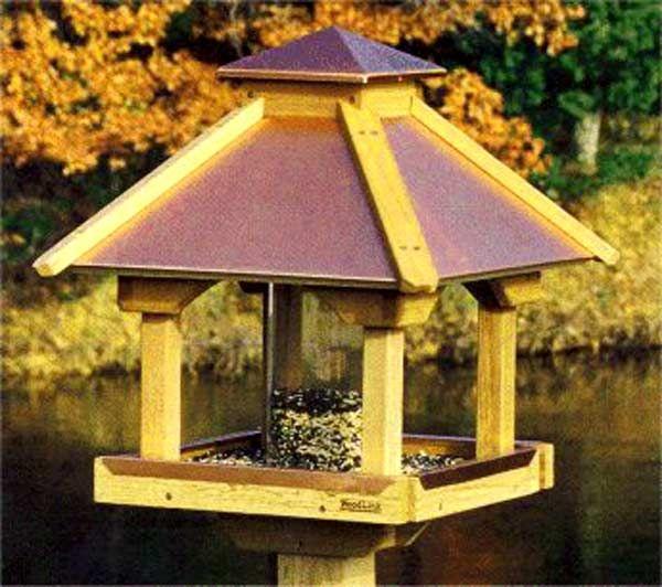 Gazebo Bird Feeder Woodworking Plans Woodworking