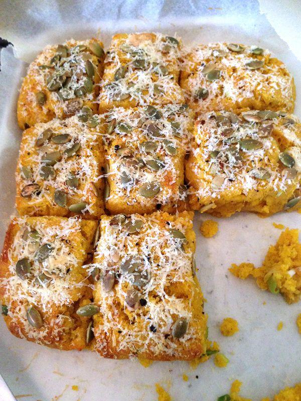 Jamie Oliver's Savoury pumpkin and pepper gluten-free scones