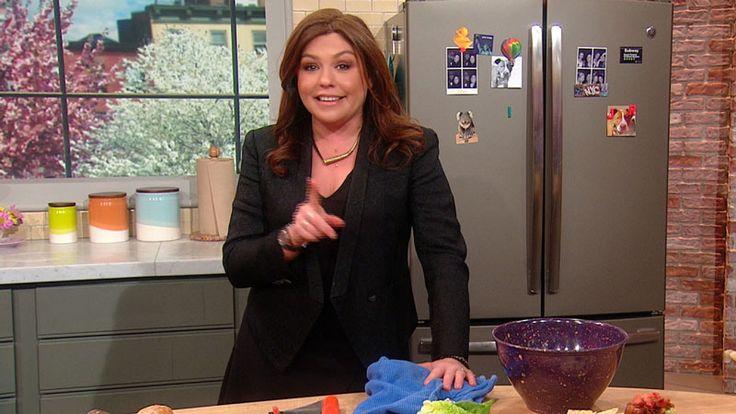 Sunny Anderson's Salmon and Zucchini Lemon Dijon Salad Recipe   Rachael Ray Show
