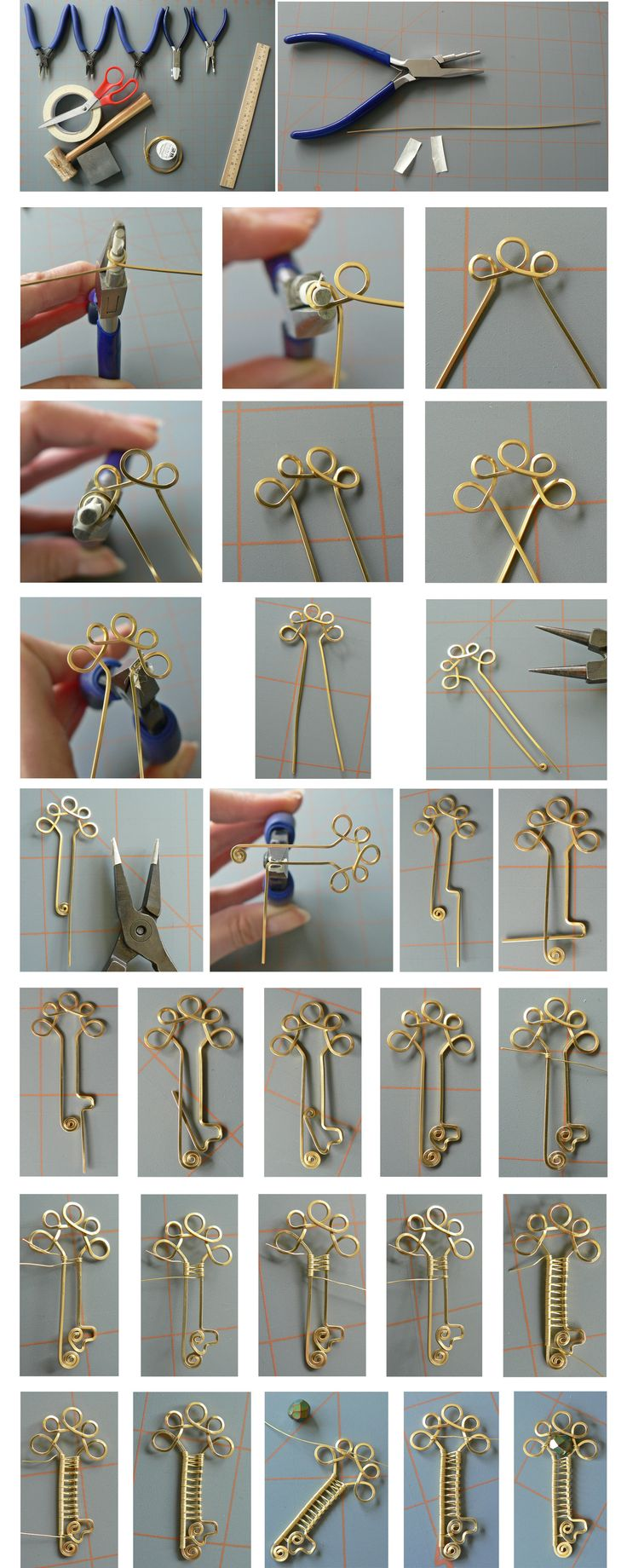 2869 Best Jewelry Junction Images On Pinterest Wire Wrap Wiring Diagram Motor Karisma Simple Key Tutorial Photos Only By Magpie Poetdeviantartcom