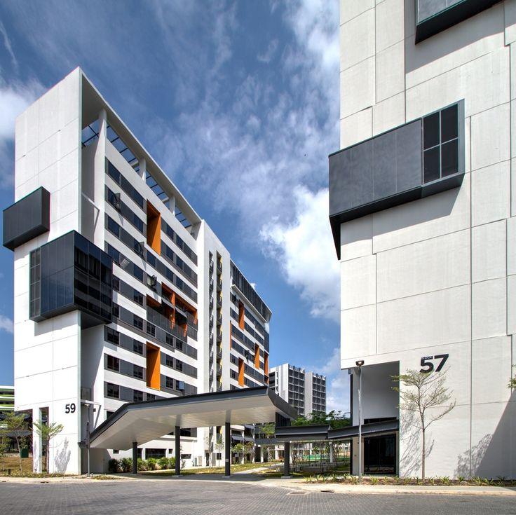 Residential Building Consultant : Gallery of sutd housing and sports look architects