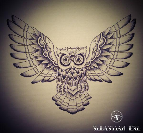 Sebastian Exl | Tattoo Artist; Drawing, 2013, Style: Old ...
