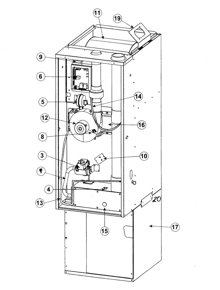 New Wiring Diagram for nordyne Gas Furnace #diagram #