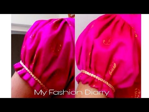 How to make perfect puff sleeves - YouTube