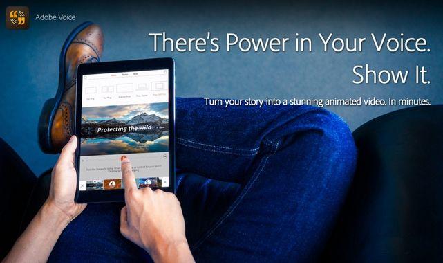 Adobe Kembangkan Voice Aplikasi Video Animasi Bagi Pengguna iPad