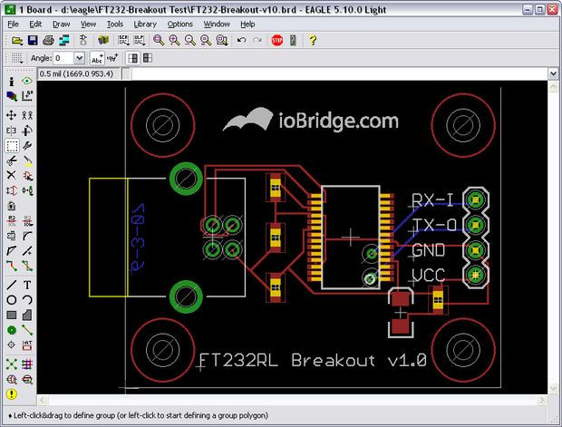 Picture of Adding Custom Graphics to EAGLE PCB Layouts