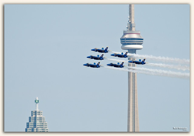 The Toronto Air Show. See TobyMac, Lecrae, TFK, and Jamie-Grace in concert at Canada's Wonderland in Toronto on June 21, 2014--go to http://www.wonderjamfestival.com/ to get your tickets!