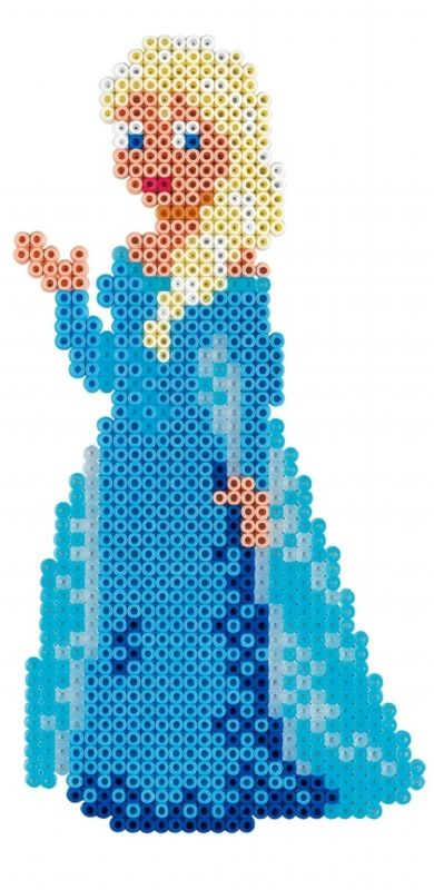 Queen Elsa - Disney Frozen Large Gift Set Hama Beads 7946