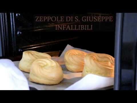 ZEPPOLE DI S GIUSEPPE INFALLIBILI - YouTube