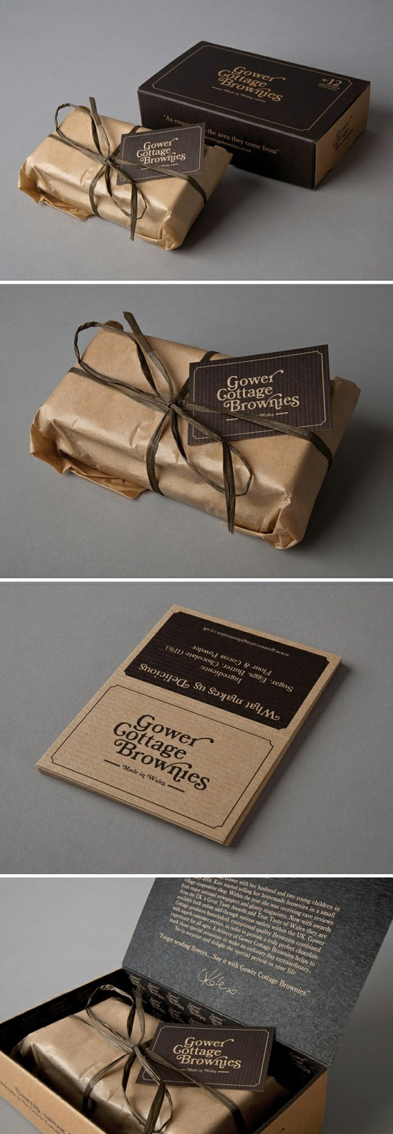 Gower Cottage Brownies | Designed by Kutchibok