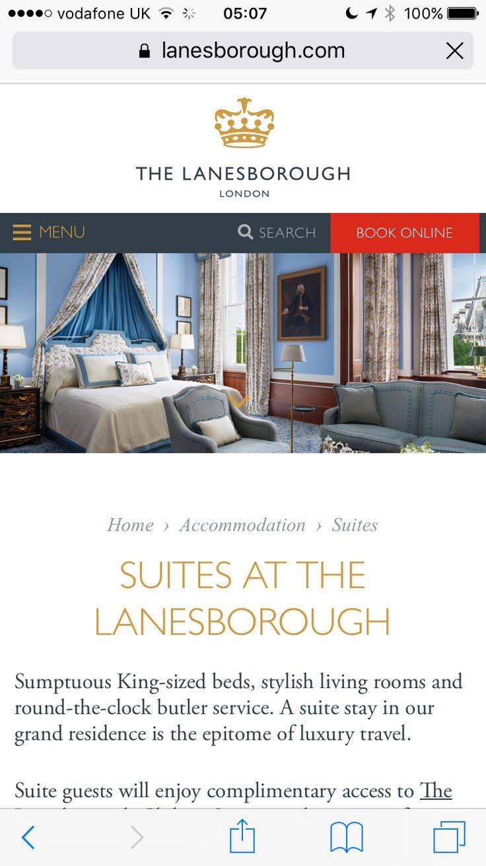 Idea by Tamara Benjamin on Bedroom Luxury suite, Stylish