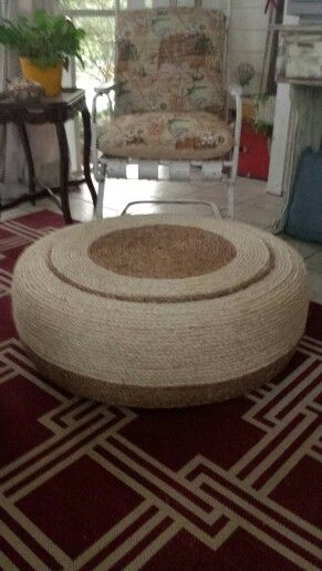 25+ unique Rope tire ottoman ideas on Pinterest | Tire ...