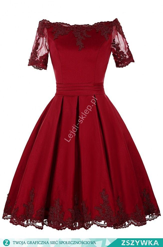 Zobacz zdjęcie Sukienka z gipiurową koronka na wesele, urodziny, studniówkę, komunię w pełnej rozdzielczości