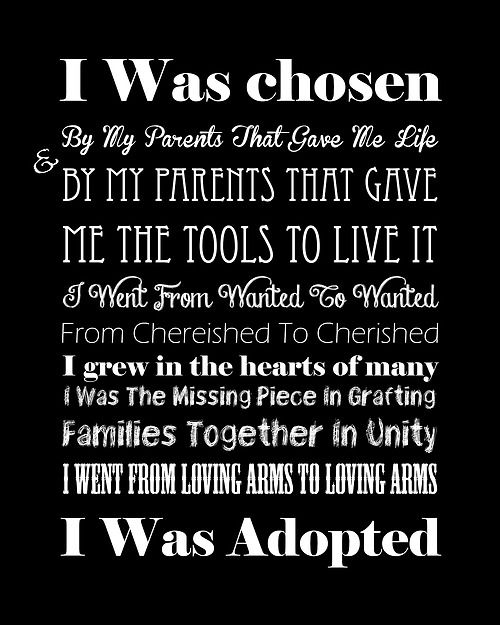 Adoption: Great Adoption Quotes. QuotesGram