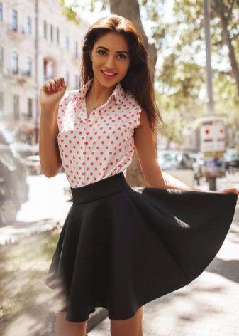 Юбка клеш – кому подходит и с чем носить | flared skirt...