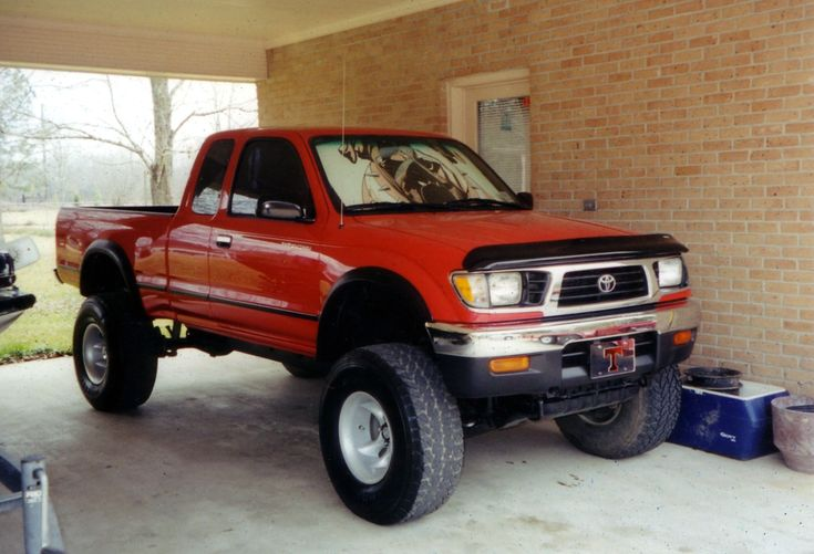 1995 Toyota Tacoma 2 Dr V6 4WD Extended Cab SB
