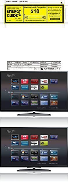 "Philips Tv 40. Philips 40PFL4909 40"" 1080p LED-LCD TV - 16:9 - HDTV 1080p 40PFL4909/F7.  #philips #tv #40 #philipstv #tv40"