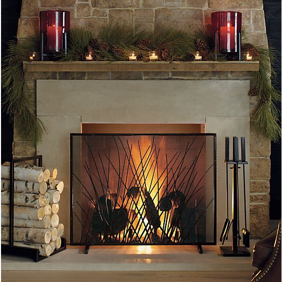 17 Best images about Fireplace Screens on Pinterest | Mantels, Mantles and  Stone fireplaces - 17 Best Images About Fireplace Screens On Pinterest Mantels