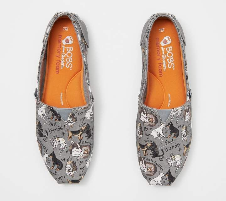 Skechers BOBS Slip-On Shoes - Love at
