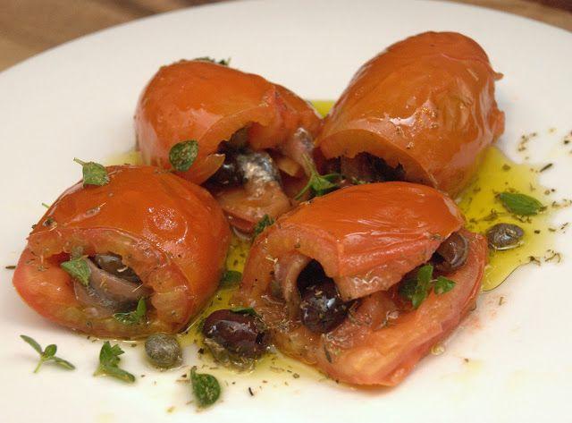 la gallina vintage: Pomodori sfiziosi