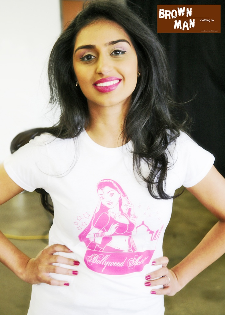 Our newest Bollywood Actress during our 2013 Model Contest. brownmanclothing.com