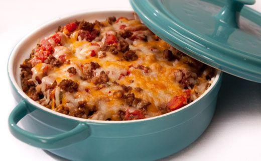 Epicure's Fiesta Taco Dip...not crack dip...but still tasty!  I just use regular salsa though.