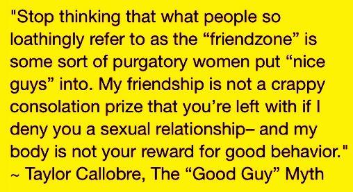 "So-called ""friendzone"""