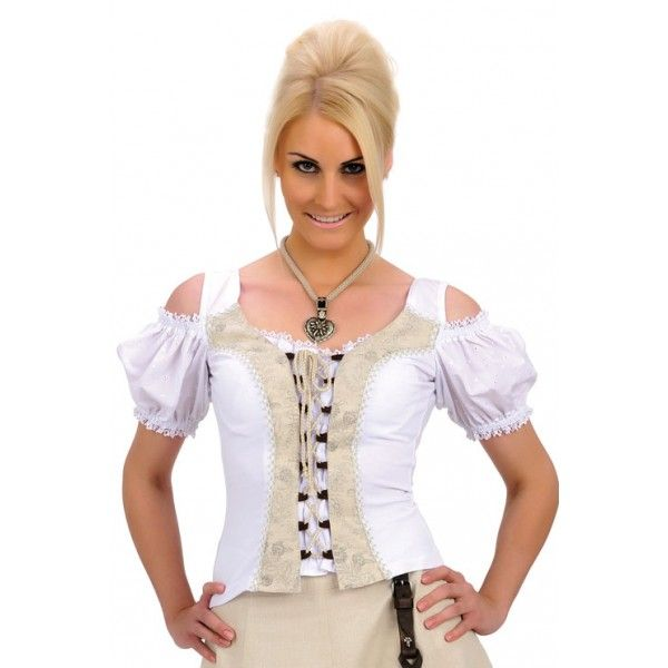 Check out Dames country blouse May - wit on http://www.westernpoint.com/nl/cowgirl-collectie/cowgirl-blouses-korte-mouwen-manches-courtes/dames-country-blouse-met-kant.html