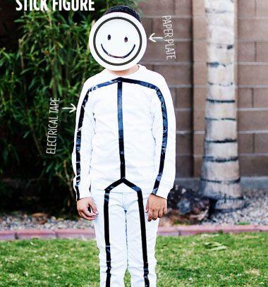 ❤ Pálcika ember jelmez - vicces farsangi jelmez gyerekeknek ❤Mindy -  kreatív ötletek és dekorációk minden napra