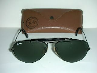 HOT COUTURE VINTAGE EYEWEAR : Vintage Ray Ban Outdoorsman Aviator + New Spare Le...