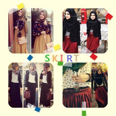 Skirt with Hijab