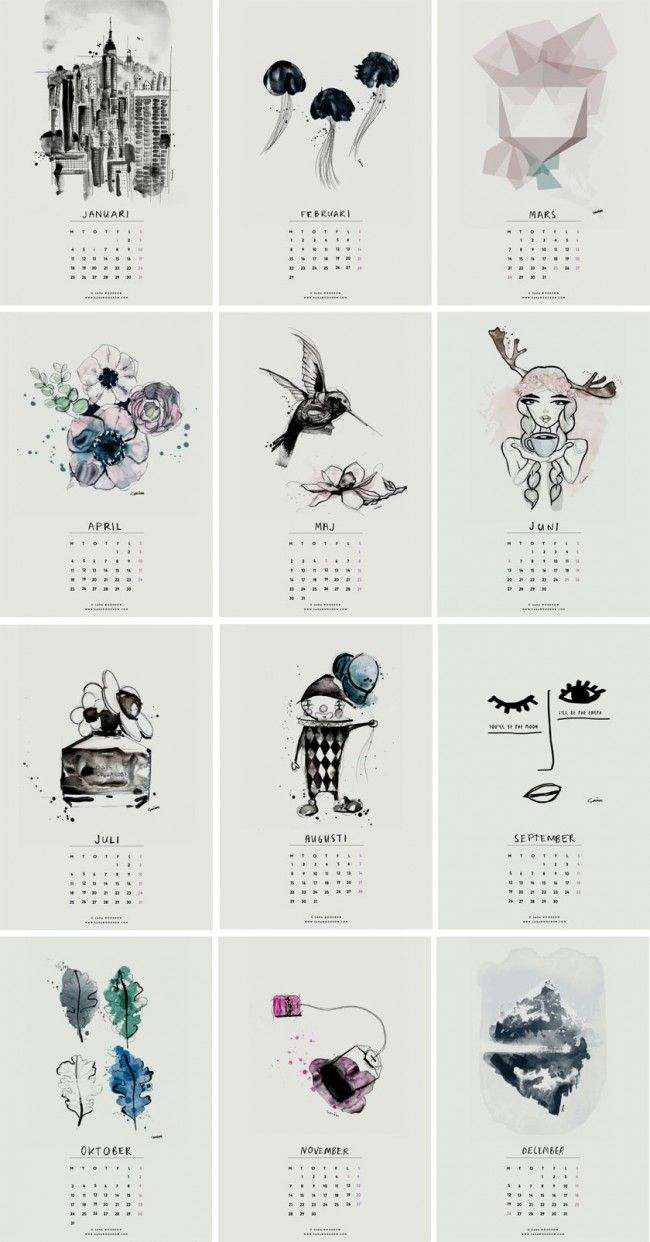 April Calendar You Can Edit : Best ideas about printable calendars on pinterest