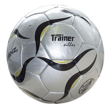 "Minge fotbal ""Trainer' (argintie), marimea 5"